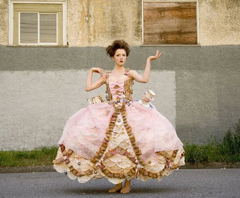 10 wedding dresses made from recycled material mattermore for Recycle wedding dress ideas