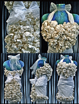 10 Wedding Dresses Made from Recycled Material | mattermore